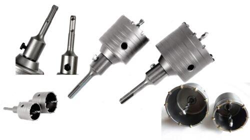 Bohrkrone Dosenbohrer Lochbohrer Kernbohrer SDS Plus 2 Stück 65mm 80mm PROFI