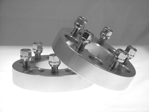 2 pc GMC 5X4.75 Billet Wheel Adapters Spacers 2.00 Inch # AP-5475E