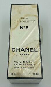 Chanel-NO-5-EAU-DE-TOILETTE-Spray-50-ml-1-7-FL-OZ-VINTAGE-SEALED