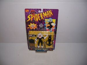 1996-Toy-Biz-Marvel-Spider-Man-New-Animated-Series-Black-Cat-Action-Figure-New