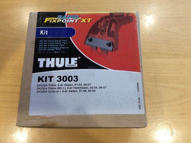 Thule Rapid Fixpoint XT Roof Bar Fitting Kit 3003 Skoda Fabia /& Octavia