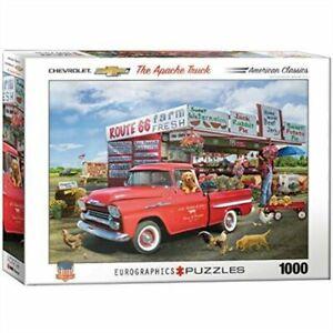 The Apache Farmer Truck - Eurographics Puzzle 1000 piece Jigsaw EG60005337