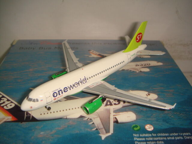 Aeroclassics 400 Siberia Airlines S7 A319-100  Oneworld Coloreee  1 400