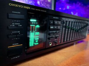 ONKYO-INTEGRA-EQ-540-1988-MINT-Vintage-Stereo-Equalizer-Spectrum-Analyzer