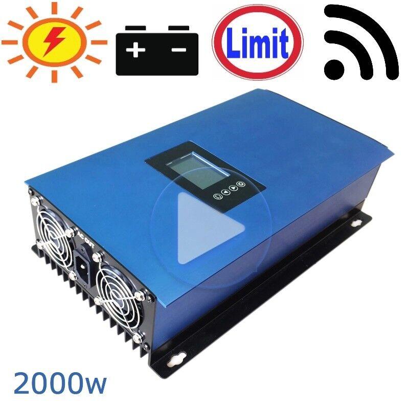 Neu 2000W Solar PV-Wechselrichter mit eingeschränktem Leistungsausgang DC45V-90V