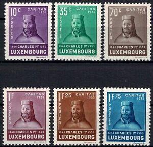 Lussemburgo LUXEMBOURG 1935 Caritas conte Karl I. frase inutilizzato MH * kw:150 €