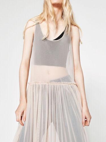 Zara Zara Nude Long T Long Nude dCBeroxQW
