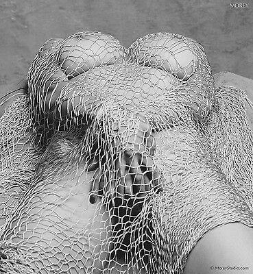Black & White Fine Art Nude, signed photo by Craig Morey: Natalie 35458.07
