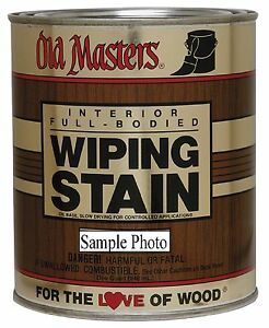 Image Is Loading Old Masters Premium Wiping Stain Pick Desired Color