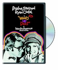 WHAT'S UP DOC (Barbra Streisand, Ryan O'Neal)- DVD - UK Compatible english cover