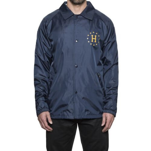 Jacket Huf Recruit Recruit Coach Navy Huf qxfawg0C