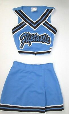 """Cheerleading Fliptastic Child Cheerleader Tumbling Uniform Girls 30"""" Top 23 Skirt Outfit Aromatic Character And Agreeable Taste Team Sports"""