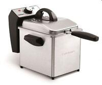 Cuisinart Deep Fryer 2l Stainless Steel Container 1500 Watts Kitchen Gadget