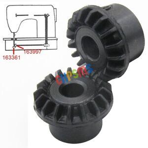 pour-Singer-Machine-a-coudre-Crochet-Timing-Drive-Gear-Set-500-serie-6103-6104