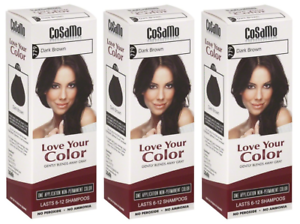 CoSaMo-Hair-Color-779-Dark-Brown-Compares-to-Clairol-Loving-Care-79-3-Pack