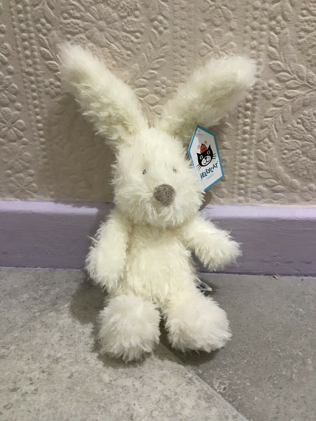 Jellycat Small Angora Bunny - Retired. With Tags