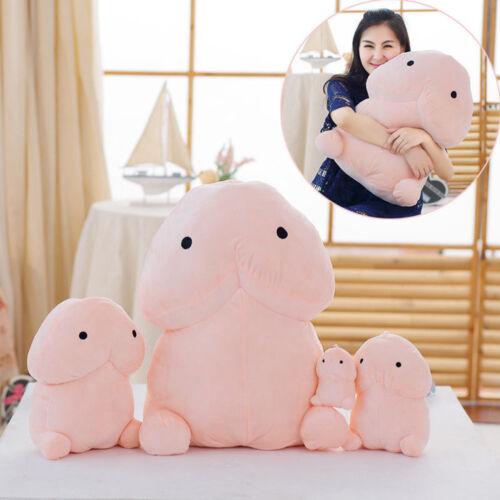 Cute Penis Plush Doll Toy Stuffed Creative Dick Soft Pillow Cushion Bolster Gift