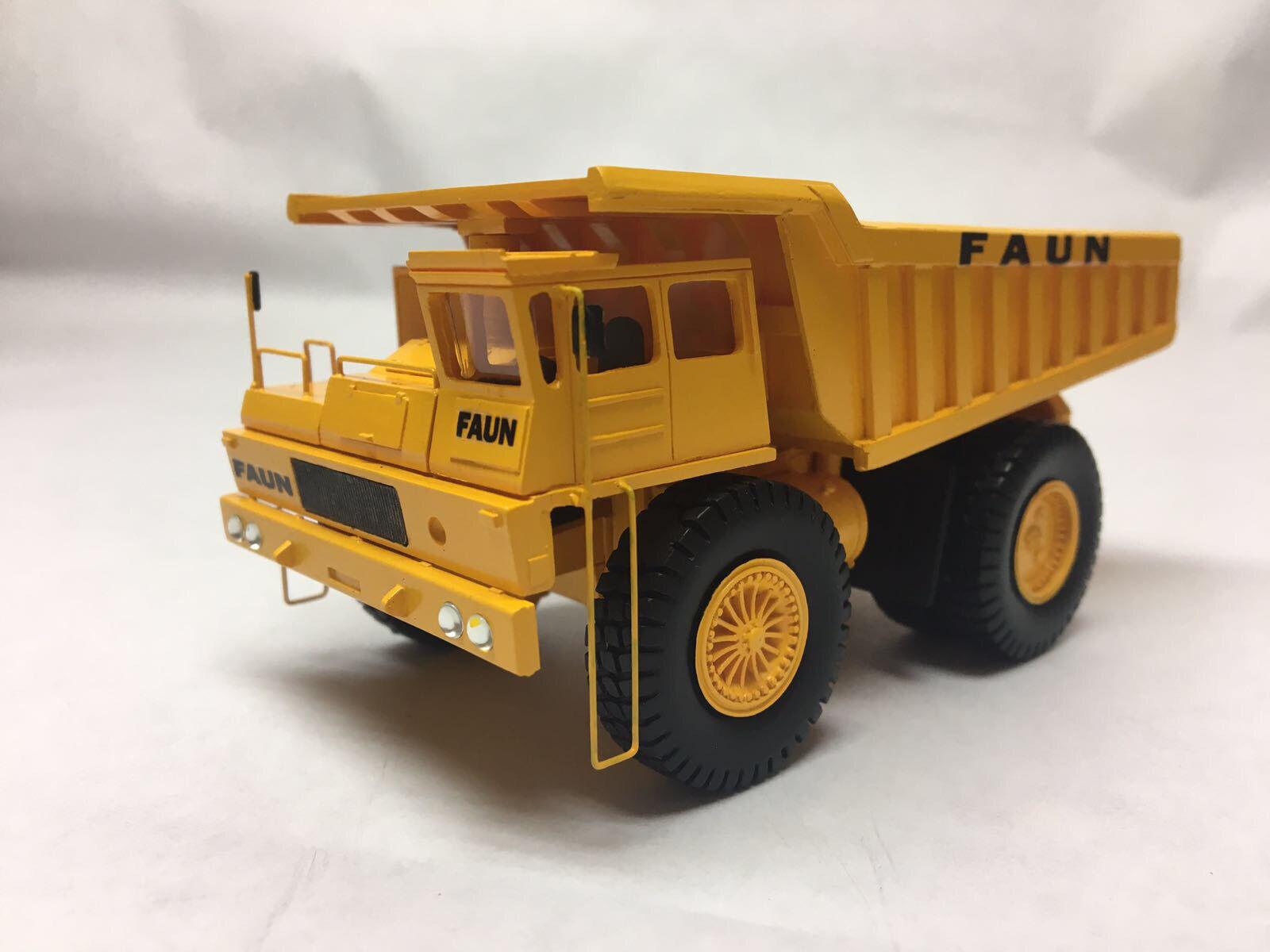 HO 1 87 FAUN K80 W 4x2 Camion Benne-prêts Résine Modèle par FanKit Models