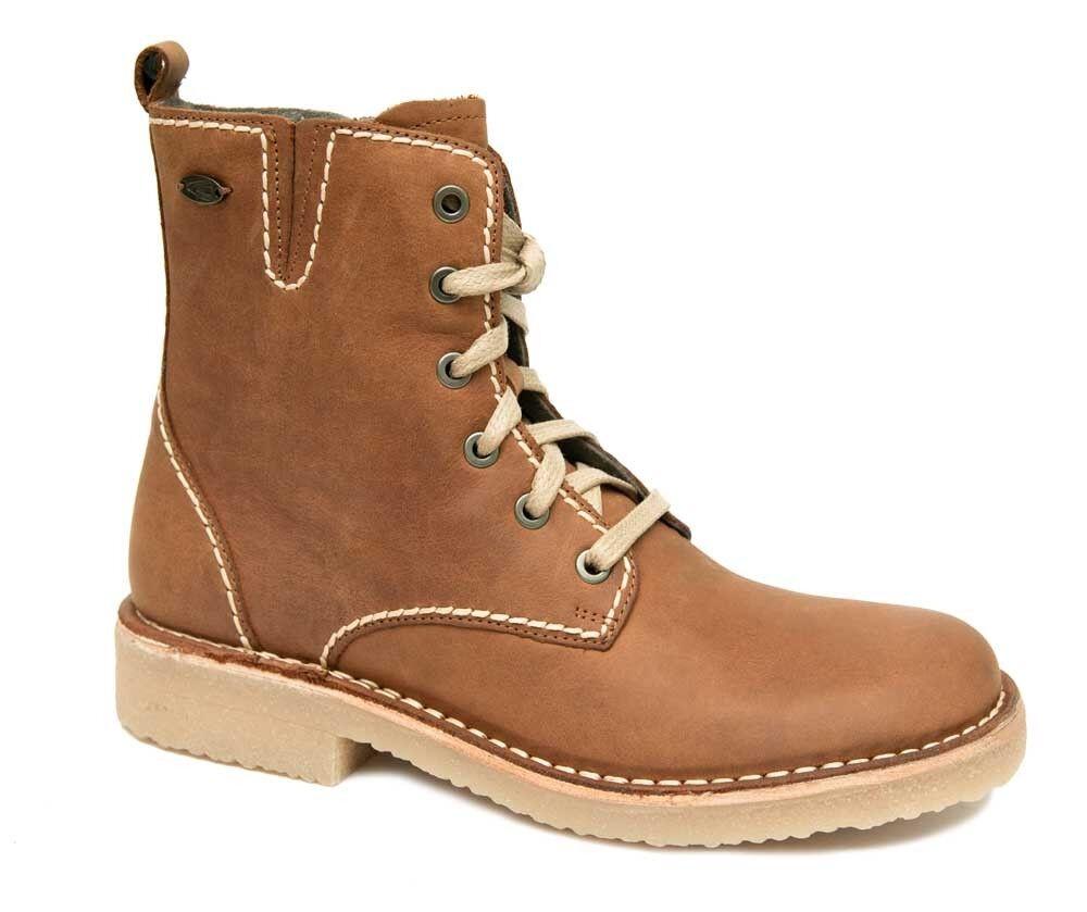 Camel active la havane boots femmes Soft Marron Crazy Horse Brandy Marron Soft Cuir 8777201 nouveau 5063fe