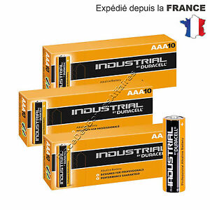 Lot de 30 Piles DURACELL INDUSTRIAL MN 2400 ALKALINE Neuve LR03 AAA !!