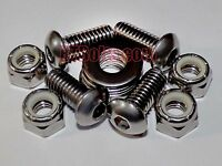 Vintage Ford Tractors - Dog Leg To Hood Bolts For 9n 2n 8n - Stainless Steel