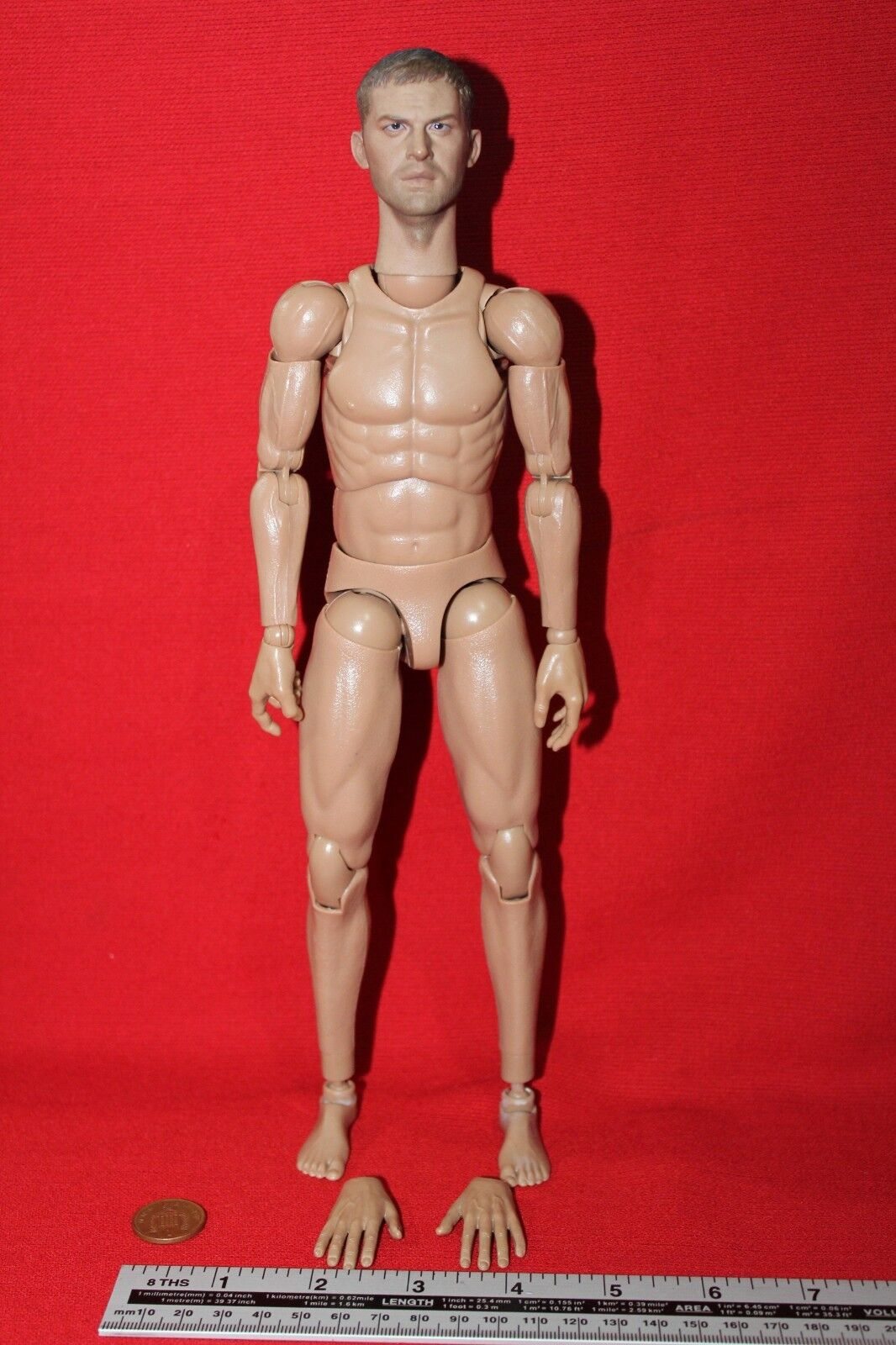 ALERT LINE 1 6TH SCALE WW2 BRITISH ROYAL AIR FORCE NUDE FIGURE