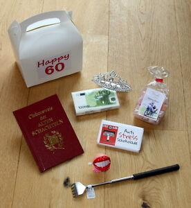 60 geburtstag geschenk idee 60er geschenke geschenkidee. Black Bedroom Furniture Sets. Home Design Ideas