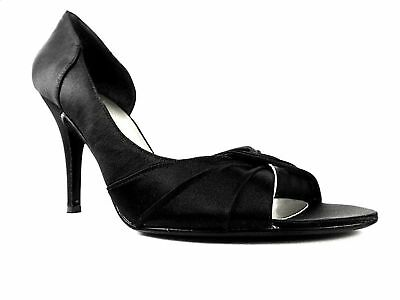 Ginottao D'Orsay Pumps Black Size