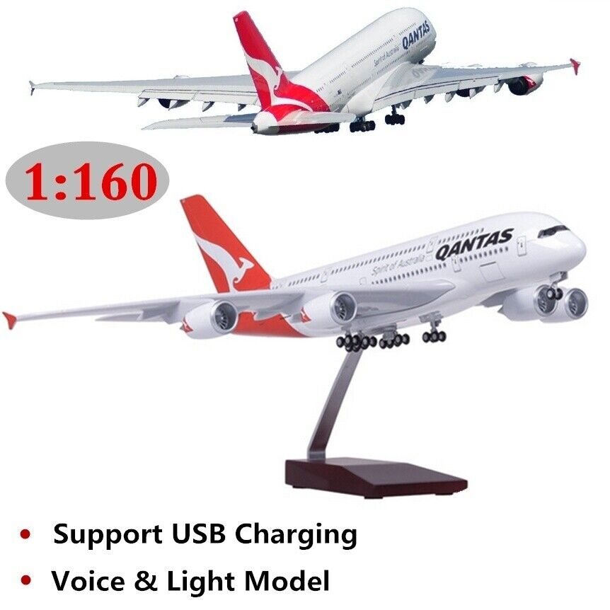 Collections Model 1 160 Scale Australian Airlines Passenger Plane A380 ModelToy