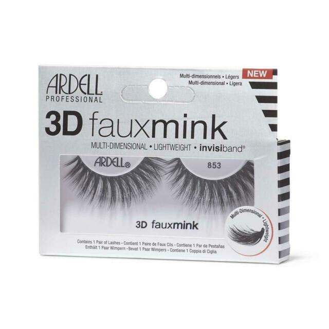 472f7a62368 Ardell 3d Faux Mink Lashes Black 853 for sale online | eBay