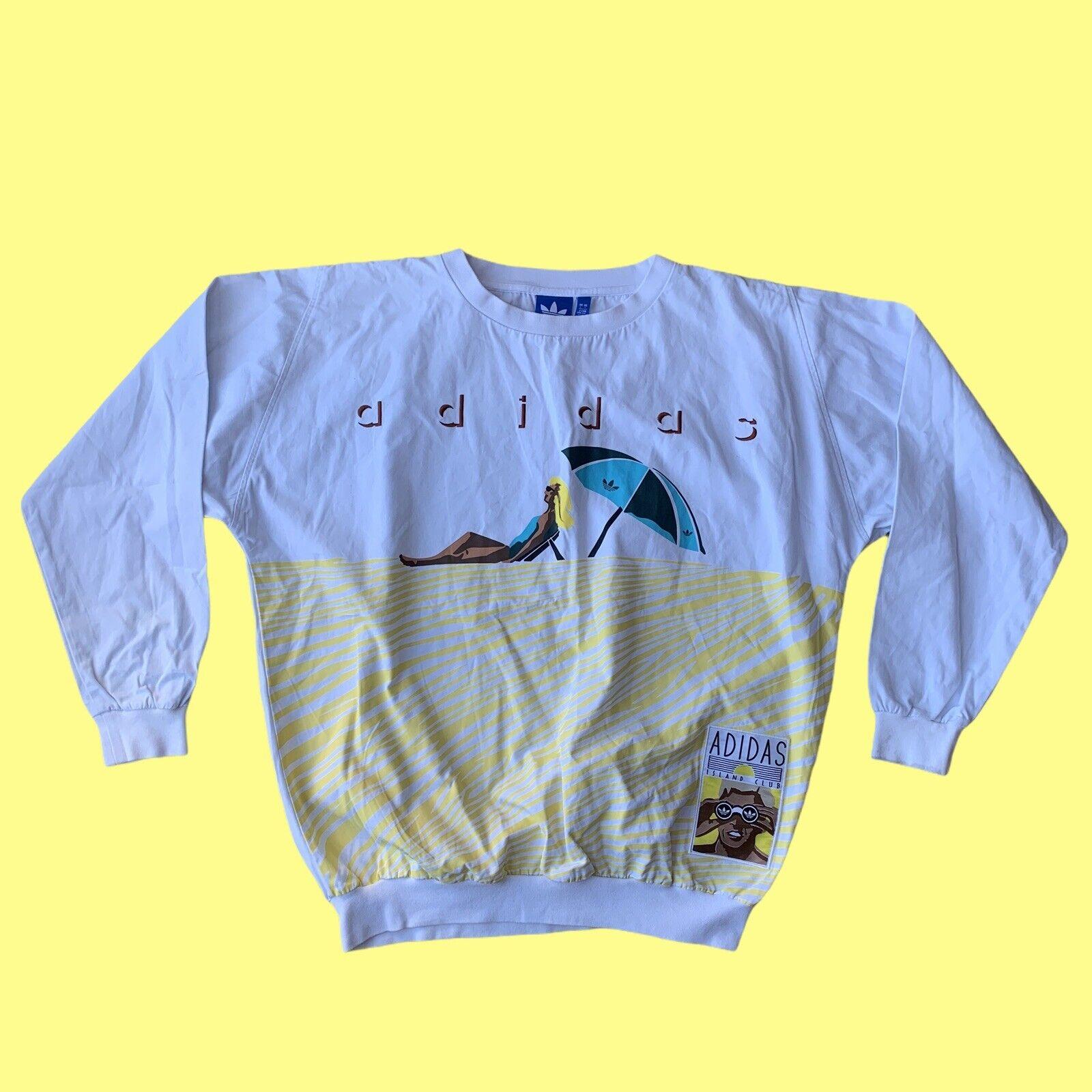 Adidas Archive Series 1988 Island Club Pullover Jumper