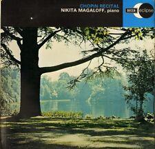ECS 513 NIKITA MAGALOFF a chopin recital uk decca eclipse 1969 LP PS VG+/EX