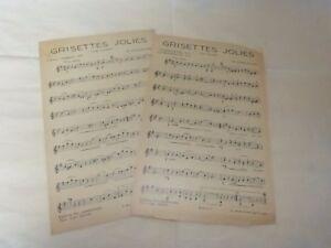DANJAUME-LYRIS-Spartito-SUR-LES-BORDI-DI-LA-SENNA-FOIE-GRAZIOSI