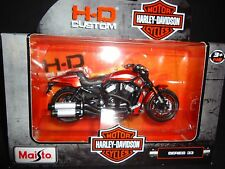 Maisto Harley Davidson VRSCDX Night Rod Special Metallic Orange 2012 S33 1/18