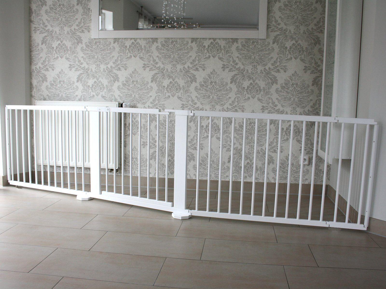 Griglia di protezione transenne türgitter scale scale scale griglia di protezione 323 cm massiccio Bianco 640d4f
