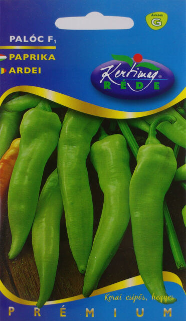 Hot Paloc very early hybrid Hungarian pepper seeds. approx. 20 seeds