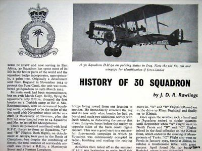 History Of No.18 Squadron R.a.f - 1964 Clipping Cutting