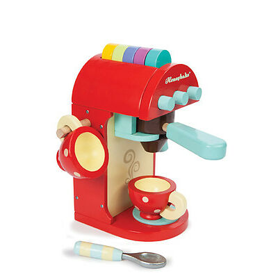 Brand New Le Toy Van Honeybake Chococcino Cafe Cappuccino Cafe Latte Machine
