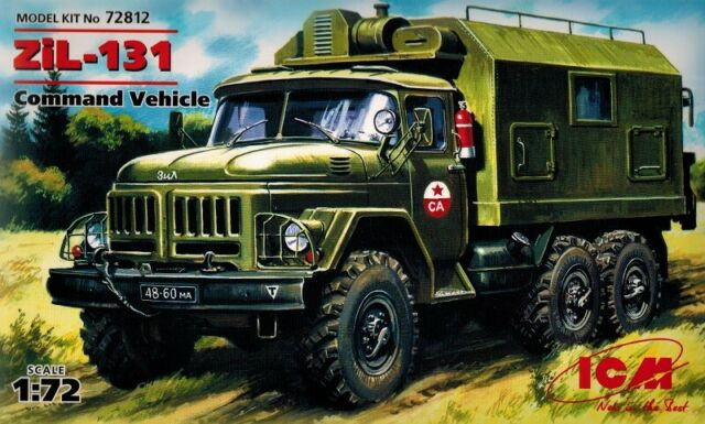 Neu ICM 72612-1:72 URAL-43203 Kommandowagen