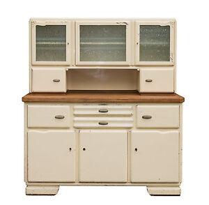 sch nes k chen buffet k che k chenschrank ca 30er bis 50er jahre shabby chic ebay. Black Bedroom Furniture Sets. Home Design Ideas