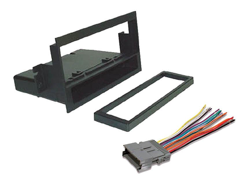2004-2005 saturn ion & vue radio/stereo installation dash kit + wiring  harness | ebay  ebay