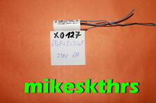 X 0127  Entstörkondensator 68nF x 2x2,5nF  250V  Kondensator = 0,068µF-2500pF uF