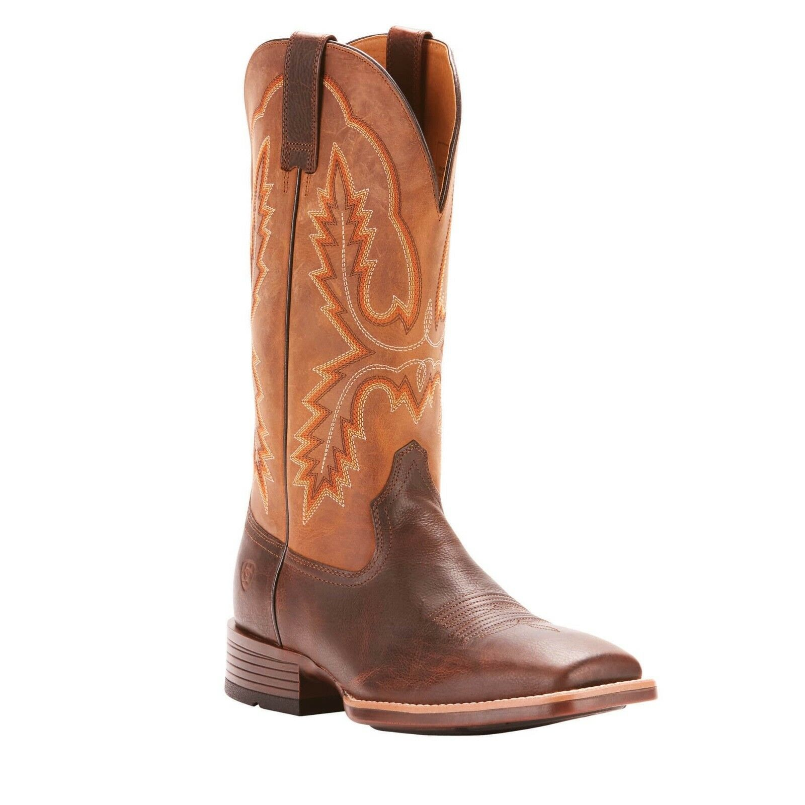 Ariat® Men's Pecos Wicker Brown Square Toe Western Boots 10025100