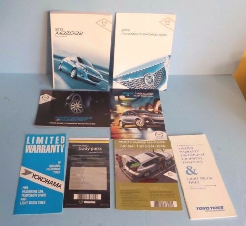 13 2013 Mazda 2//Two owners manual