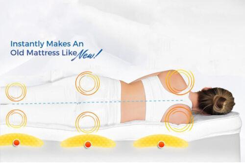 Luxury Microfibre Mattress Topper Ultra Soft Air-Flow Breathable Mattress