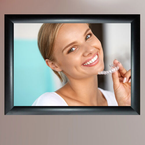 DENTAL GUM DISEASE /& TEETH WHITENING POSTERS UPTO A1 SIZE FRAMES AVAILABLE