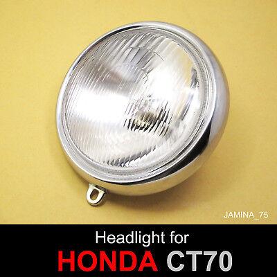 """Rim Bulb Honda CT70 Mini Trail 70 DAX 91 92 93 94 6/"""" Headlight Head Lamp 12 V"""