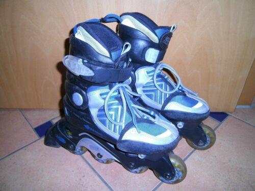 * Verstellbare Inliner Junior Skate Gr Rollen noch gut 31-33