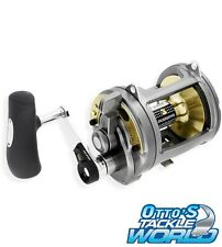 Shimano Tyrnos 2 Speed 50LRS Overhead Fishing Reel BRAND NEW@ Ottos Tackle World