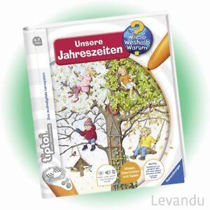 RAVENSBURGER tiptoi® Buch - Wieso Weshalb Warum? - Unsere Jahreszeiten - NEU